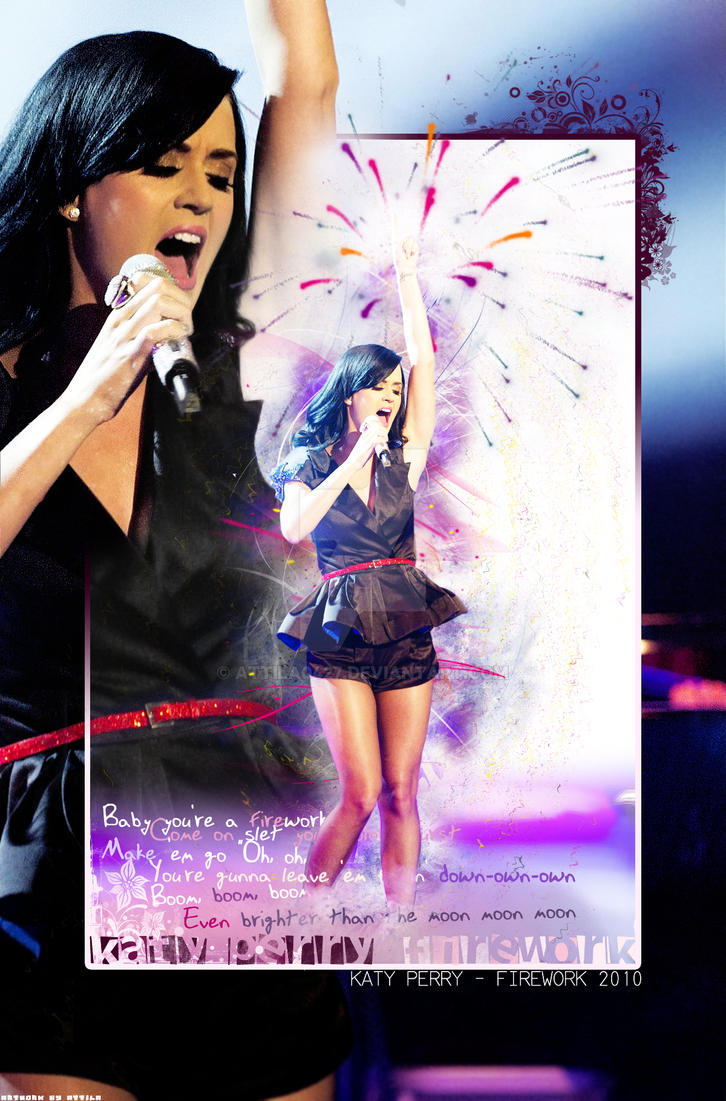 Katy Perry Firework by attila0427 on DeviantArt