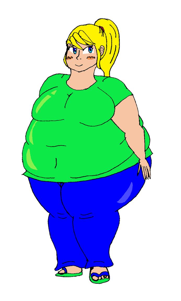 deviantart Fat girl