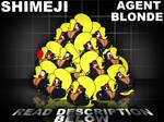 Shimeji Agent Blonde