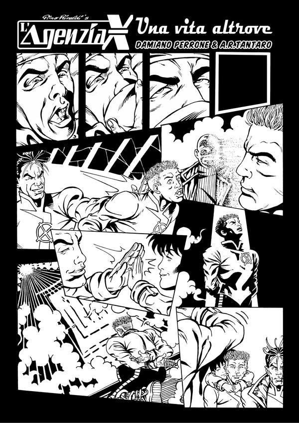 Agenzia X Omega Compendium page 1 ( Pino Rinaldi ) by AntonioRussoTantaro