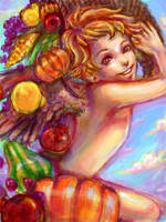 Harvest Cupid by CarSoda