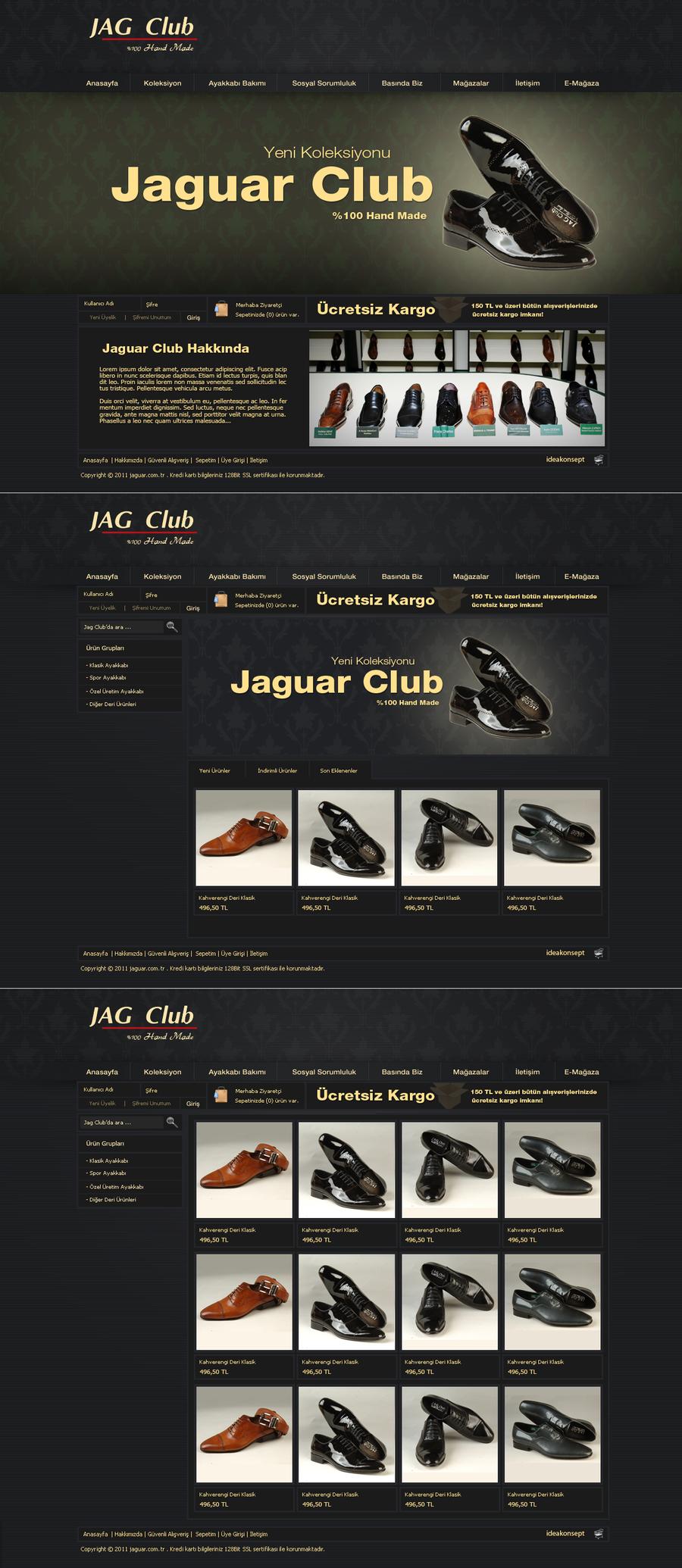 Jag Club e-commerce by MorinTedronai