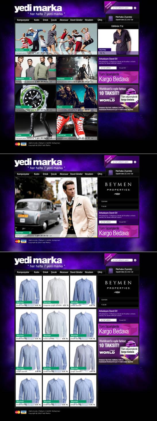 yedi marka e-commerce