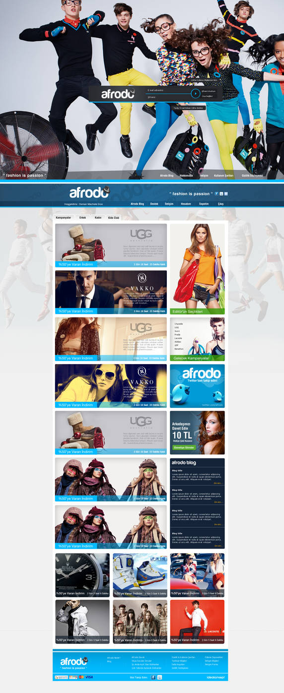 afrodo e-commerce