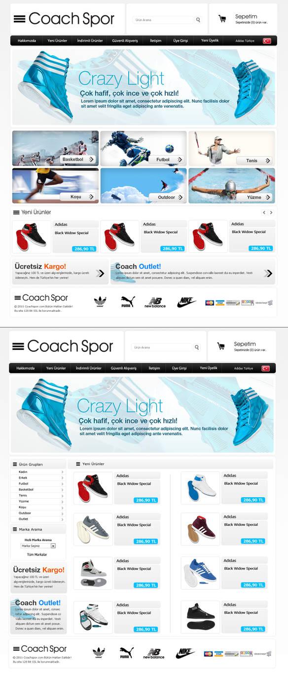 coachsport e-commerce