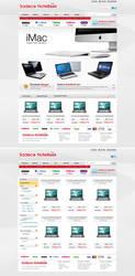Sadece Notebook e-commerce by MorinTedronai