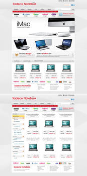 Sadece Notebook e-commerce