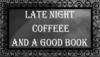 Late Night Coffee And A Good Book Stamp [Free] by LunaKurogane