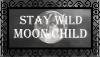 Moon Child Stamp by LunaKurogane