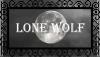 Lone Wolf Stamp [Free To Use] by LunaKurogane