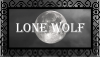 Lone Wolf Stamp [Free To Use] by TwilightRainfall