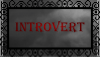 Introvert Stamp {Free to use} by LunaKurogane