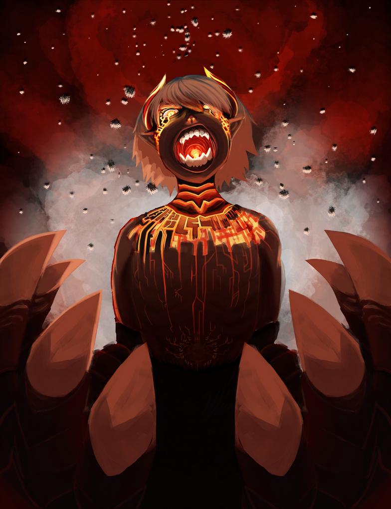 Fury of the Dragon God - BoF IV fan art
