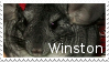 Winston the Chinchilla Stamp by Doctor-Axel