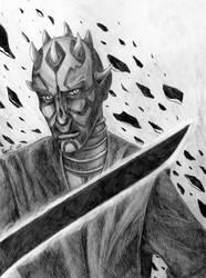 Maul - Ruler of Mandalore by Renvenge