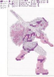 Link Cross Stitch Pattern by Jormel