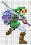 Link Cross Stitch Pattern *colored version*