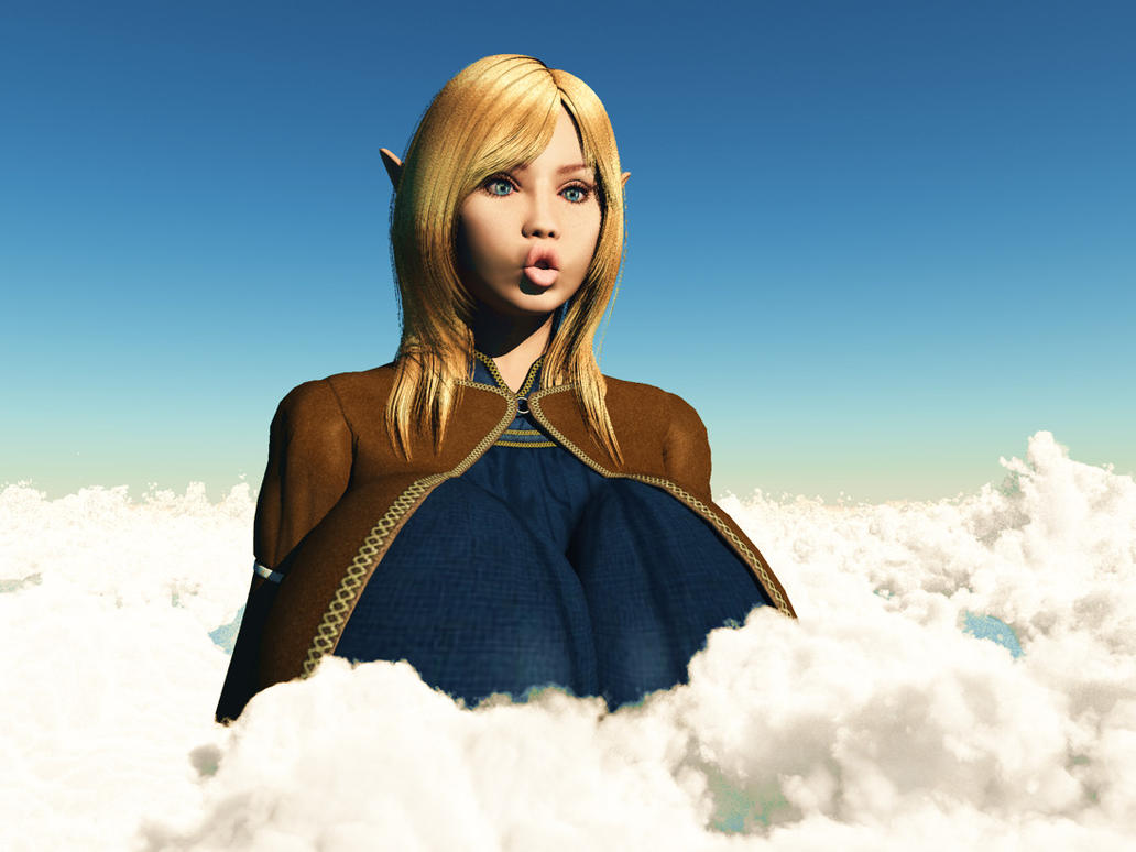 Vue giantess 42: Oops Wrong spell? by nyom87 on DeviantArt