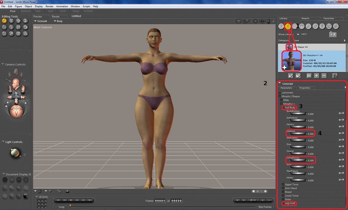 Poser tutorial: Composing a female character part2 by nyom87 on ...: nyom87.deviantart.com/art/Poser-tutorial-Composing-a-female...