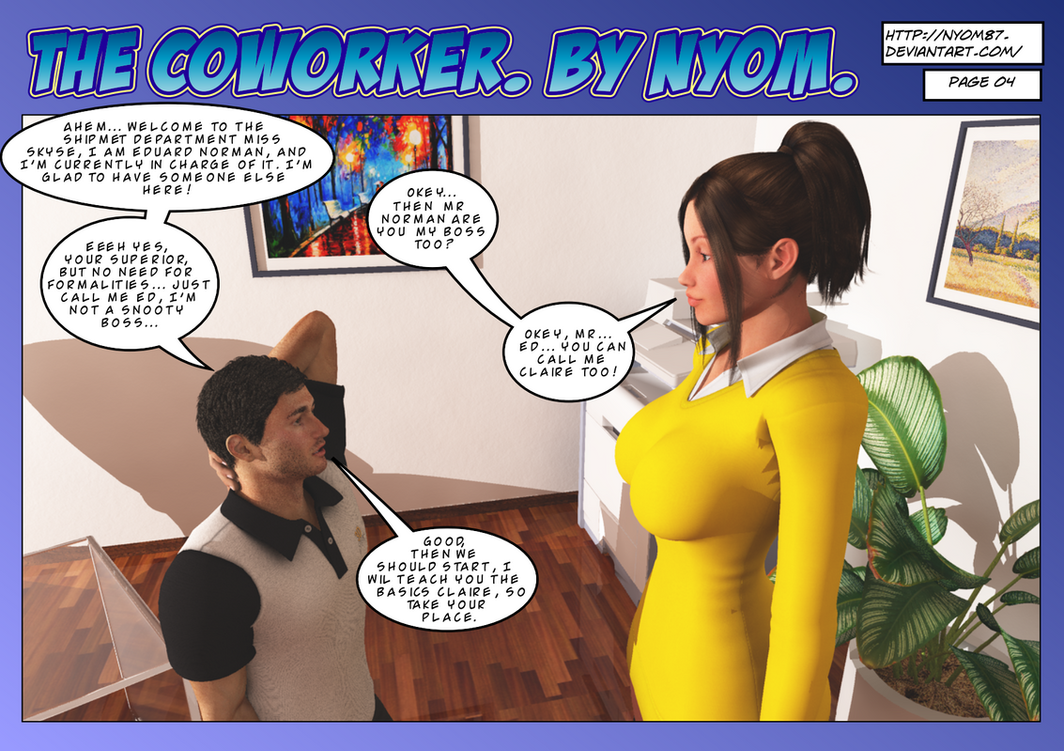 The Coworker Page 4. by nyom87