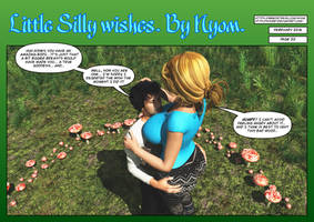 Little Silly Wishes. Page 22. by nyom87