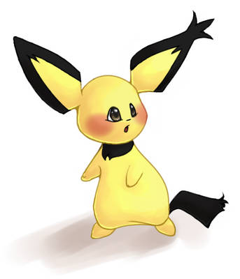 Notch-eared Pichu