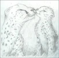 .Cheetah sketch. by Pinkie-Pichu