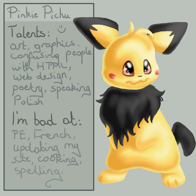 Pinkie-Pichu's Profile Picture