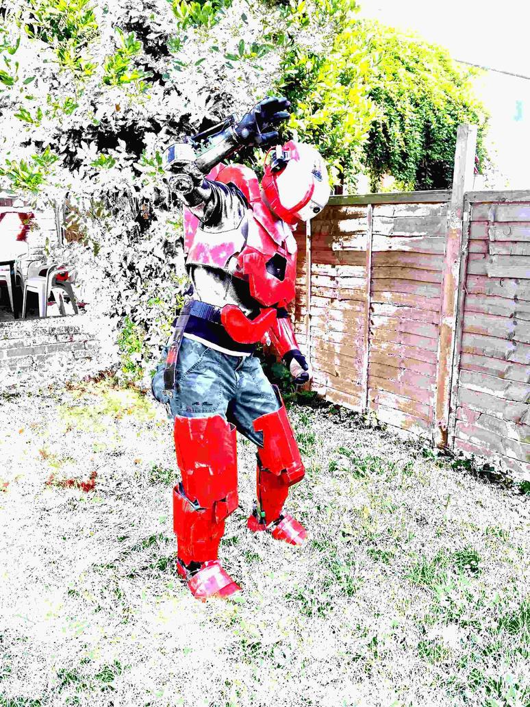 Halo Reach Gungnir Flash by UnknownEmerald