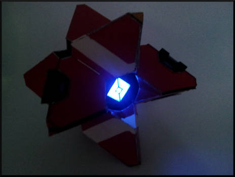 Destiny Prop: Ghost at night
