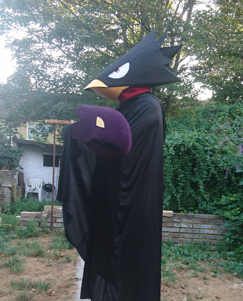 Tokoyami Fumikage Cosplay [1] by UnknownEmerald