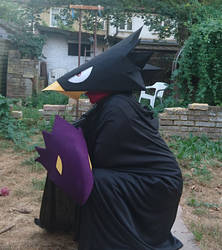 Tokoyami Fumikage Cosplay [2] by UnknownEmerald