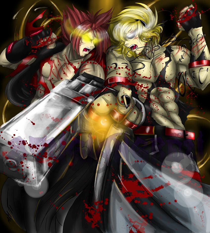 Jeiryan VS Devil by StygianGrey