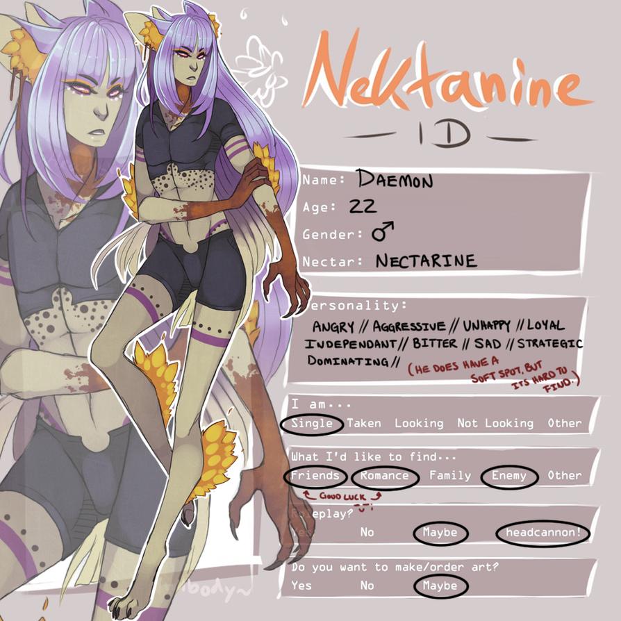 Nektanine ID: Daemon by Valiuum