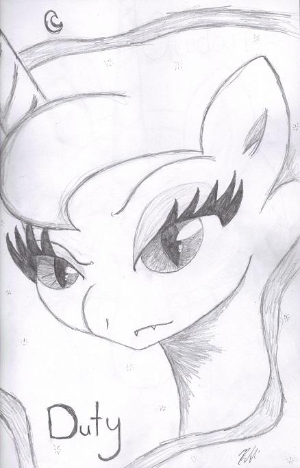 Luna Duty by bookxworm89