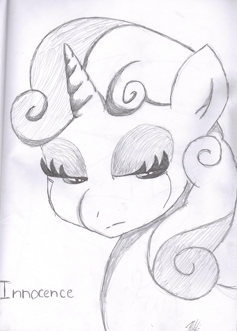 Sweetie Bell  Innocence by bookxworm89