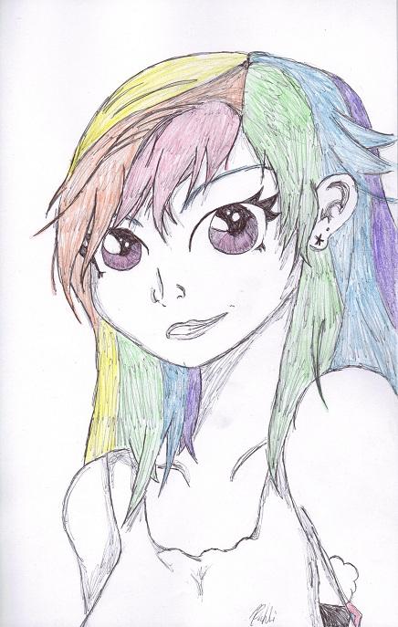 RainbowDash by bookxworm89