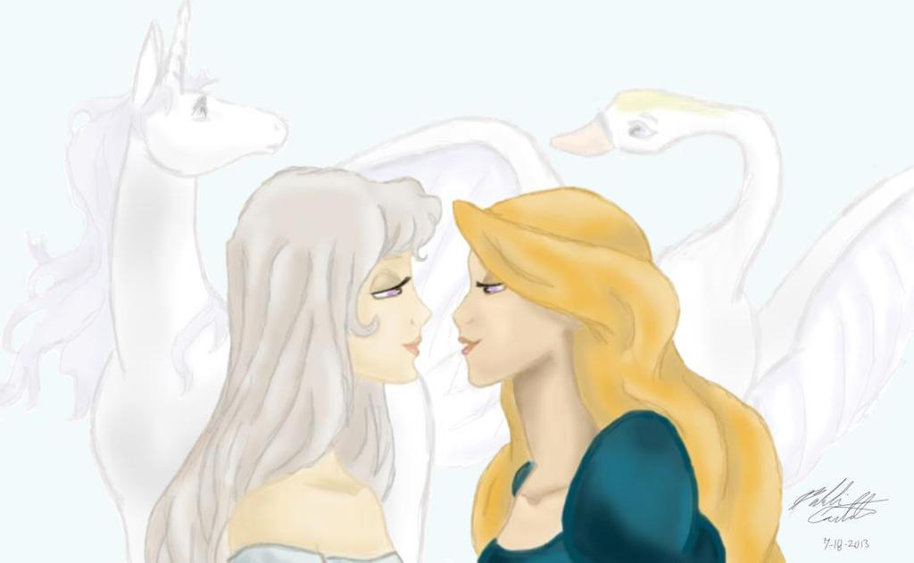 Amalthea X Odette by bookxworm89