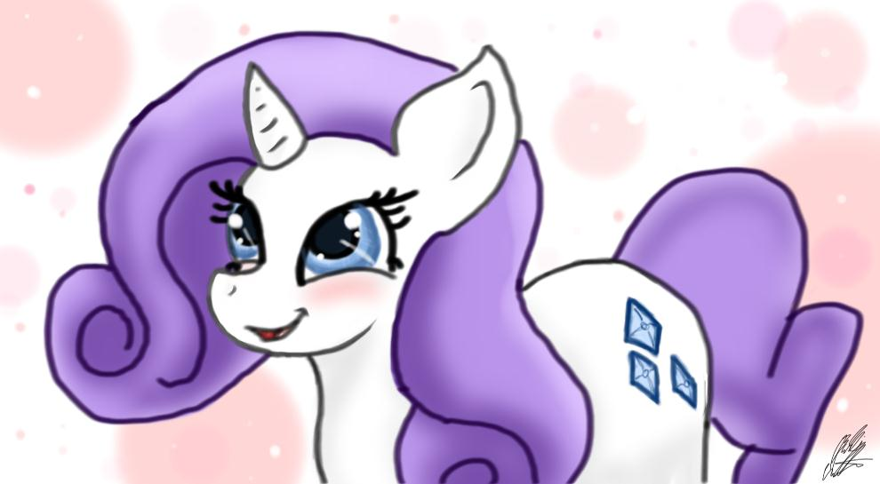 Cute Rarity by bookxworm89