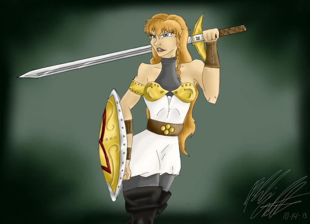 Freyja by bookxworm89