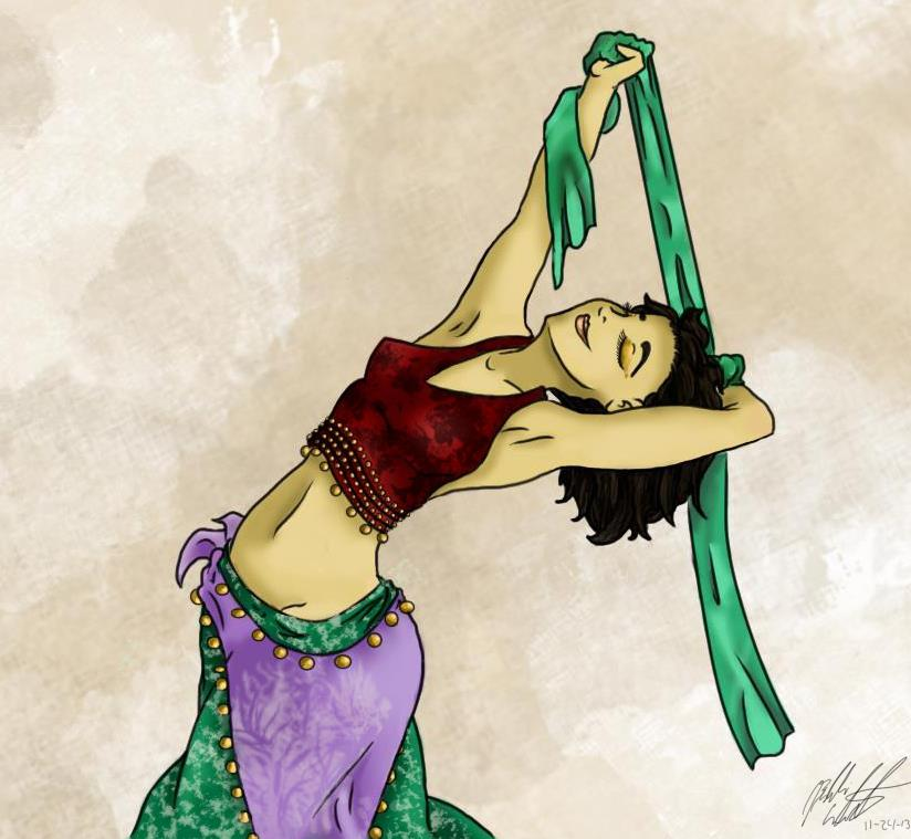 Belly dance by bookxworm89
