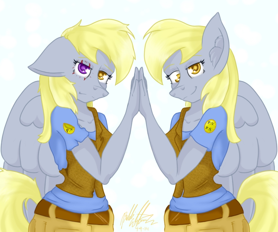 The downfall of Derpy by bookxworm89
