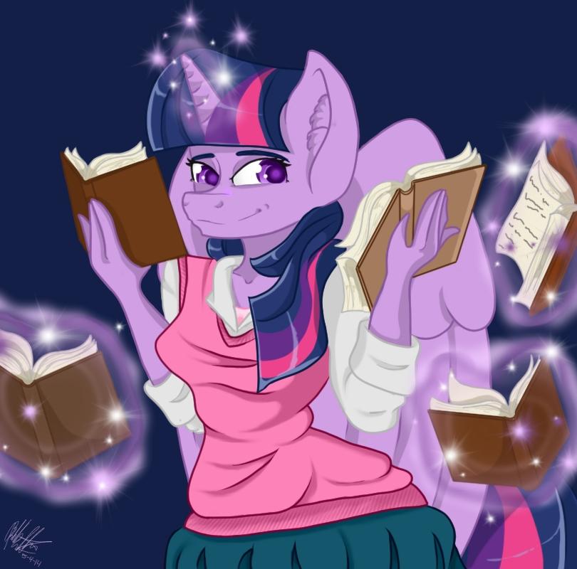 Twilight Sparkle by bookxworm89