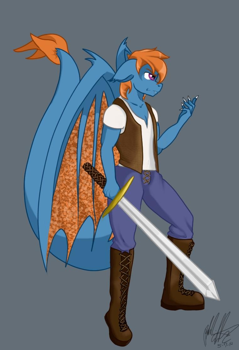 Dragonpony by bookxworm89