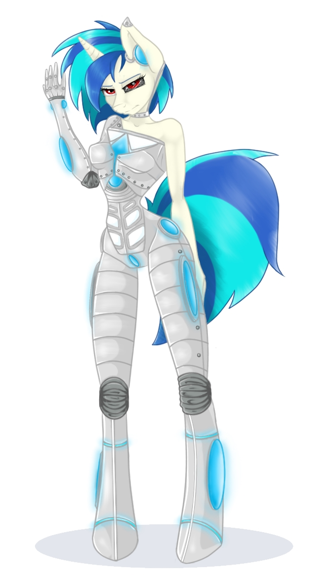 RoboVinyl commission by bookxworm89