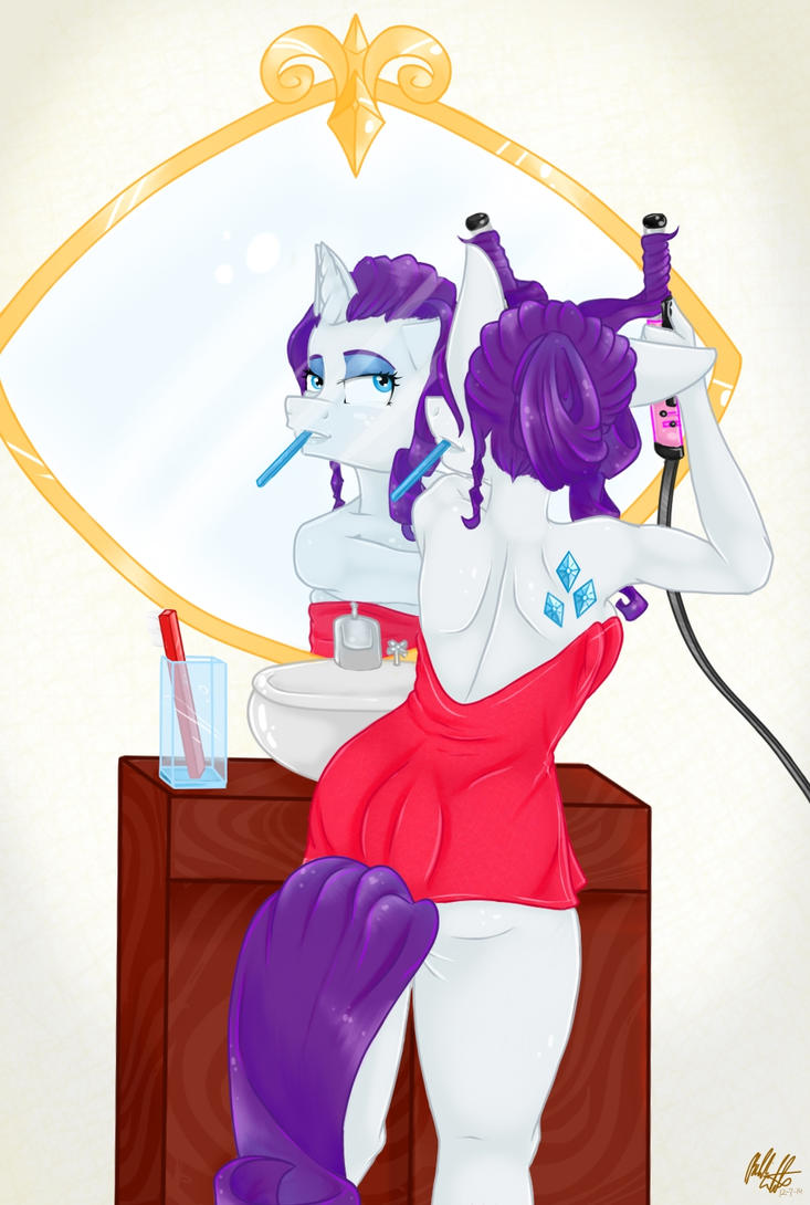 Getting Ready by bookxworm89
