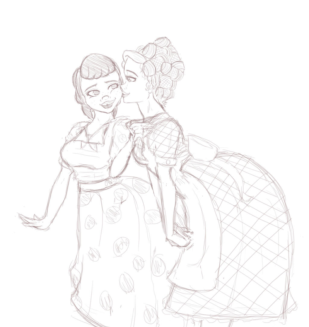50s Housewives by bookxworm89