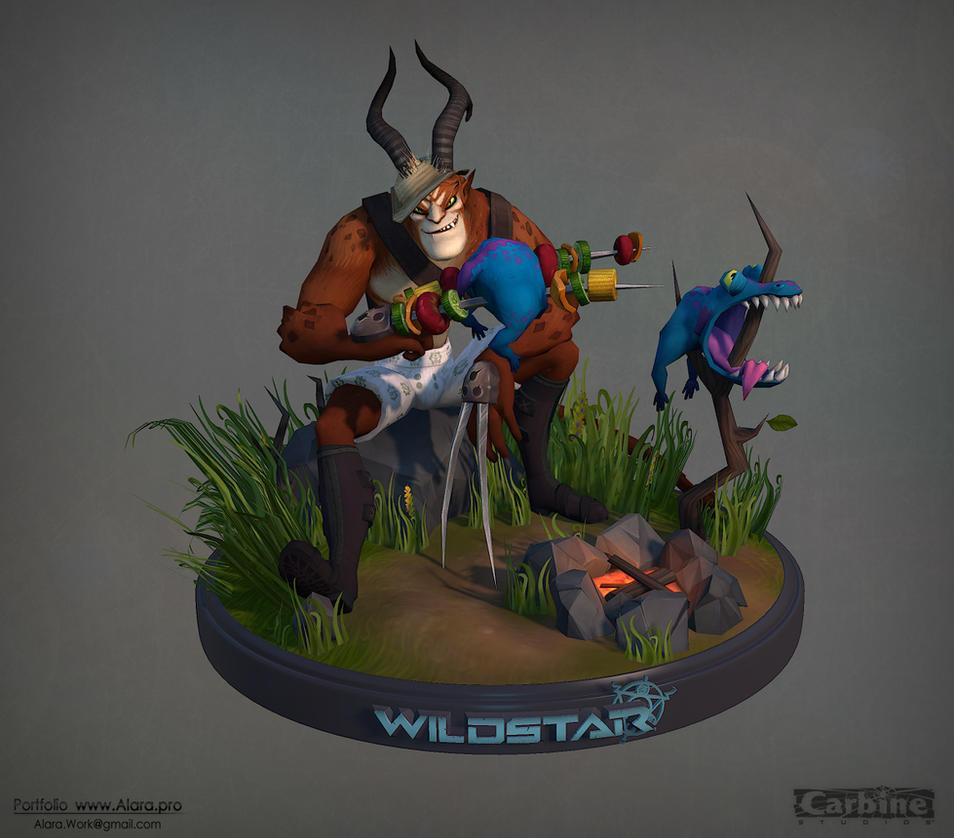 Wildstar Online, Draken Turntable 3D model by Ko-hitsuji