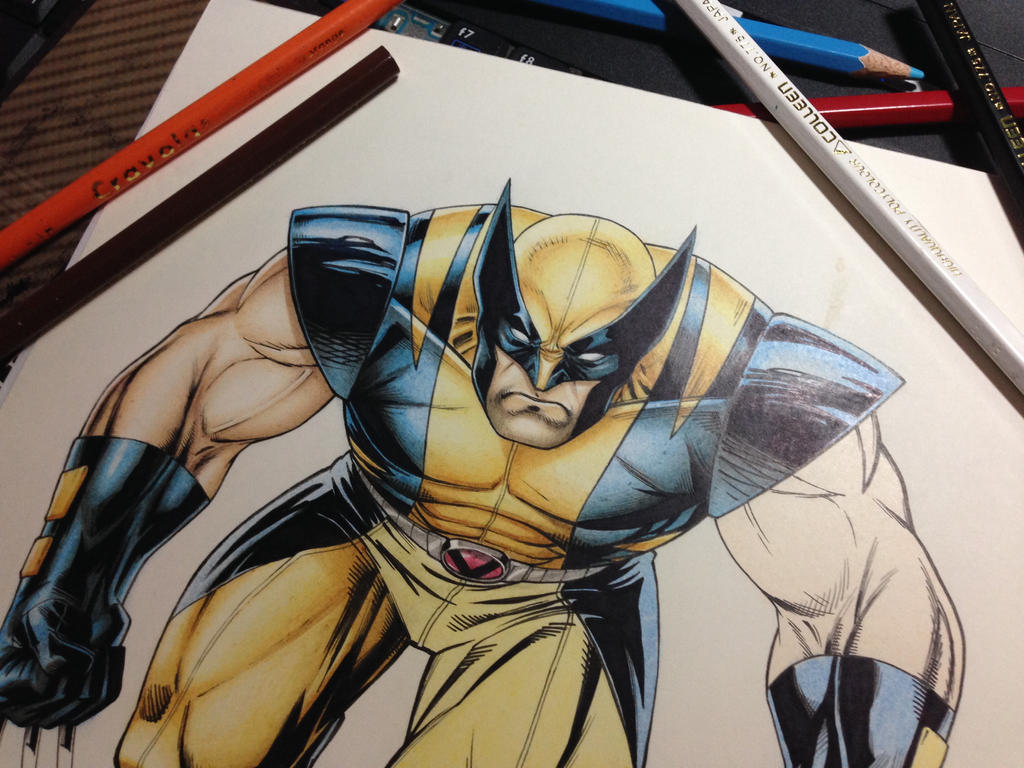 Wolverine WIP by maztabotin