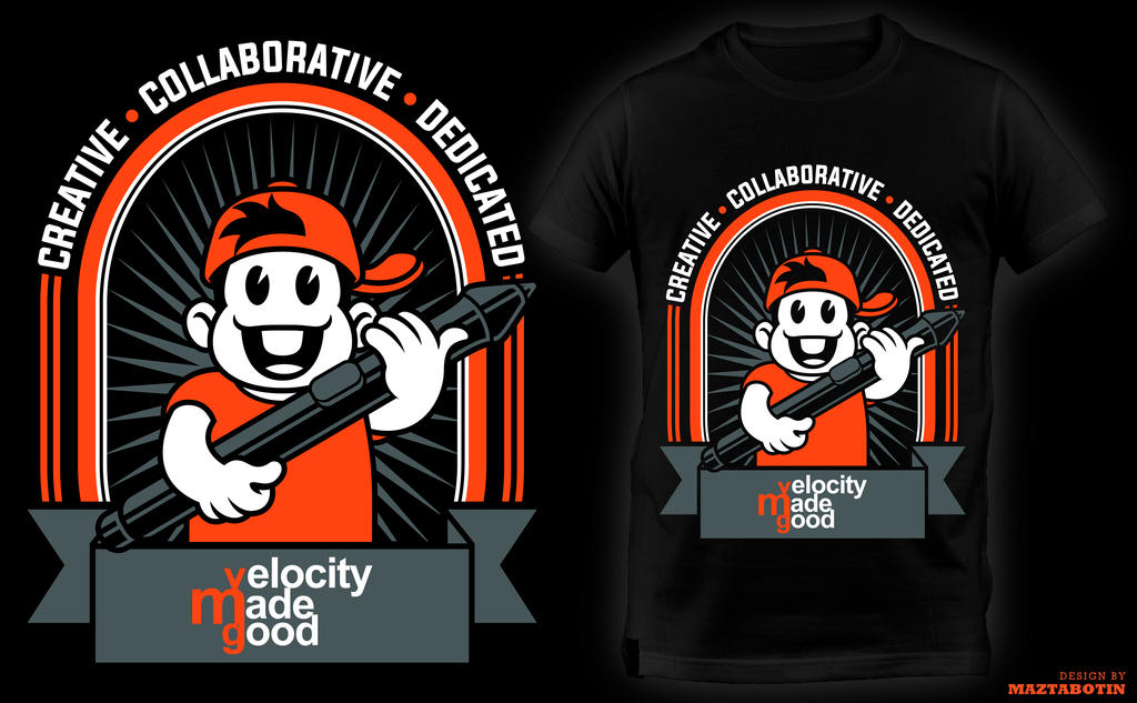 VMG T shirt Design by maztabotin